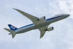 チャッピー・シミズさんが、那覇空港で撮影した全日空 787-9の航空フォト(飛行機 写真・画像)