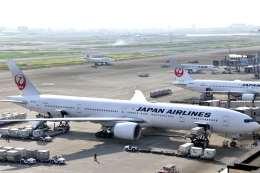 シャークレットさんが、羽田空港で撮影した日本航空 777-346/ERの航空フォト(飛行機 写真・画像)