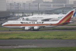 TIA spotterさんが、羽田空港で撮影したカリッタ エア 747-4B5(BCF)の航空フォト(飛行機 写真・画像)