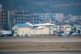 まいけるさんが、福岡空港で撮影した安藤商会 525A Citation CJ2の航空フォト(飛行機 写真・画像)