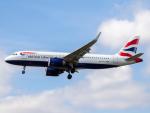 Mame @ TYOさんが、ロンドン・ヒースロー空港で撮影したブリティッシュ・エアウェイズ A320-251Nの航空フォト(飛行機 写真・画像)