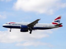 Mame @ TYOさんが、ロンドン・ヒースロー空港で撮影したブリティッシュ・エアウェイズ A320-232の航空フォト(飛行機 写真・画像)