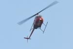 500さんが、自宅上空で撮影したアルファーアビエィション R22 Beta IIの航空フォト(飛行機 写真・画像)