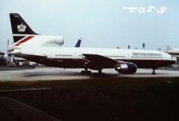 tassさんが、パリ シャルル・ド・ゴール国際空港で撮影したブリティッシュ・エアウェイズ L-1011-385-1 TriStar 1の航空フォト(飛行機 写真・画像)