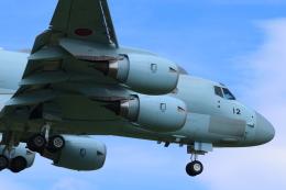 ぼのさんが、厚木飛行場で撮影した海上自衛隊 P-1の航空フォト(飛行機 写真・画像)