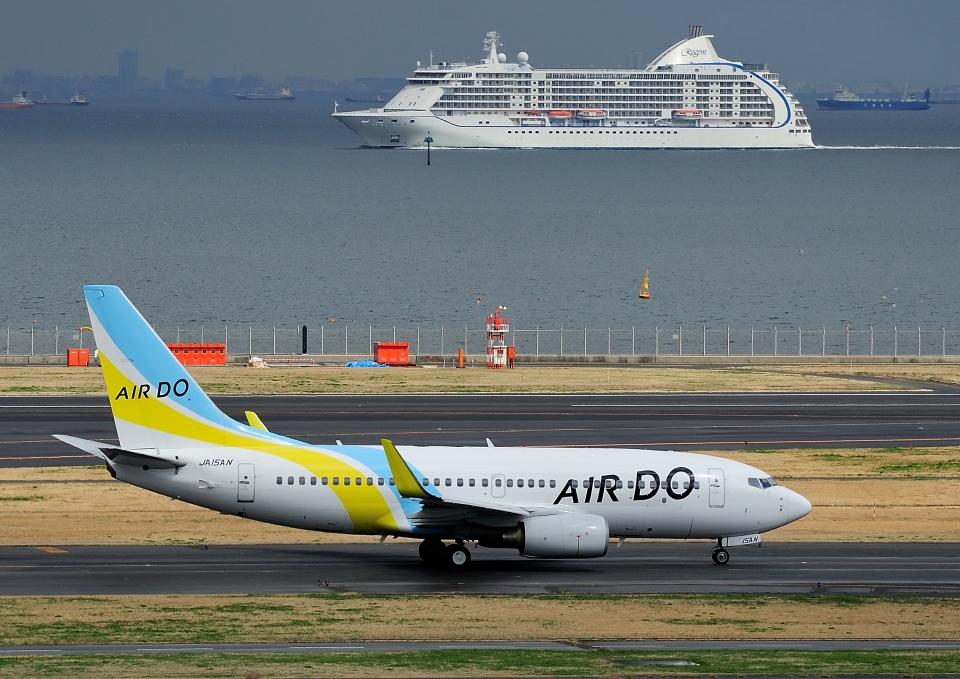 じーく。さんのAIR DO Boeing 737-700 (JA15AN) 航空フォト