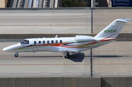 キャスバルさんが、フェニックス・スカイハーバー国際空港で撮影したアメリカ個人所有 525B Citation CJ3の航空フォト(飛行機 写真・画像)