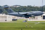 チャッピー・シミズさんが、嘉手納飛行場で撮影したアメリカ空軍 C-17A Globemaster IIIの航空フォト(飛行機 写真・画像)