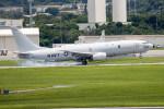 チャッピー・シミズさんが、嘉手納飛行場で撮影したアメリカ海軍 P-8A (737-8FV)の航空フォト(飛行機 写真・画像)