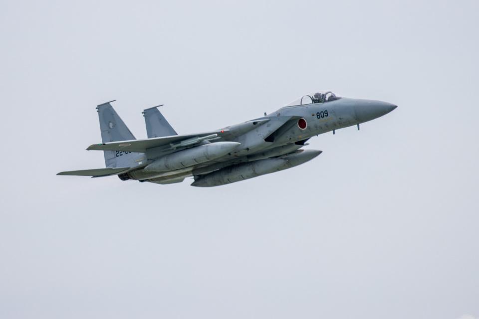 チャッピー・シミズさんの航空自衛隊 Mitsubishi F-15J Eagle (22-8809) 航空フォト