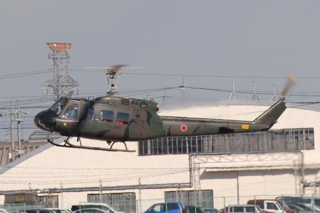 banshee02さんが、宇都宮飛行場で撮影した陸上自衛隊 UH-1Hの航空フォト(飛行機 写真・画像)