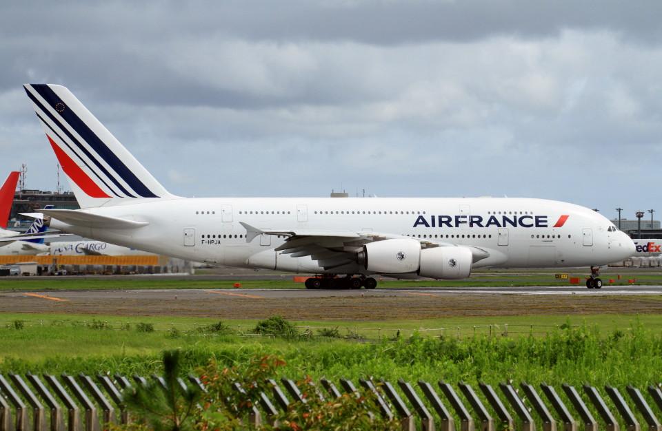 shibu03さんのエールフランス航空 Airbus A380 (F-HPJA) 航空フォト