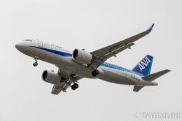 遠森一郎さんが、福岡空港で撮影した全日空 A320-271Nの航空フォト(飛行機 写真・画像)