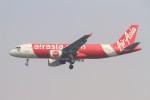 BTYUTAさんが、インディラ・ガンディー国際空港で撮影したエアアジア・インディア A320-214の航空フォト(飛行機 写真・画像)