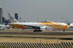 shibu03さんが、成田国際空港で撮影したノックスクート 777-212/ERの航空フォト(飛行機 写真・画像)
