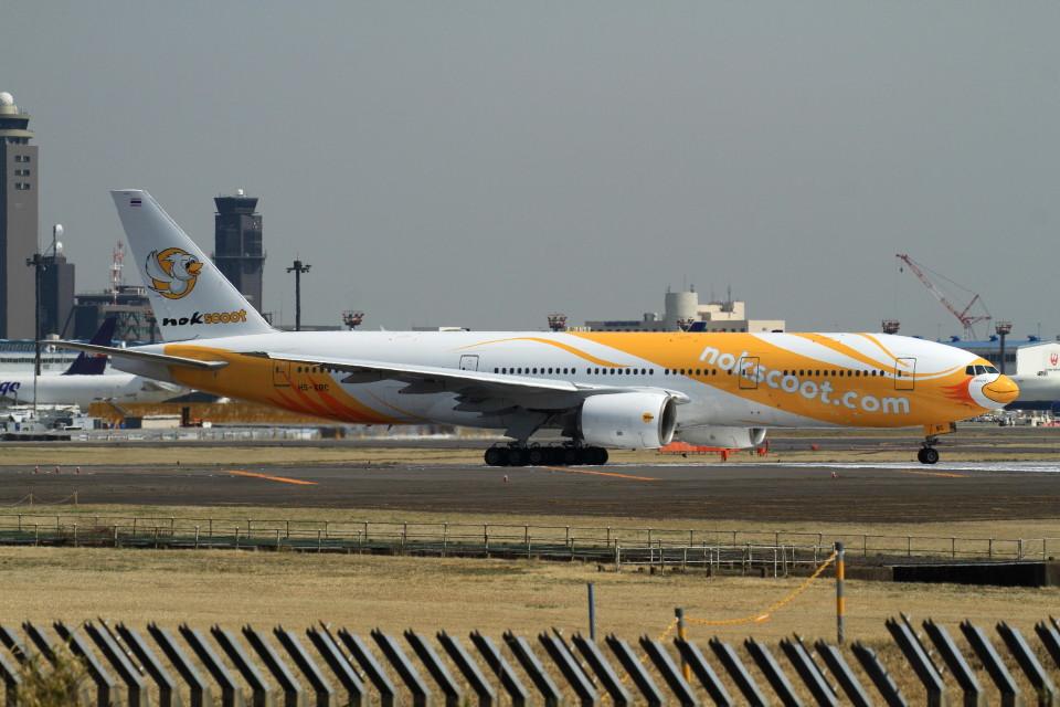 shibu03さんのノックスクート Boeing 777-200 (HS-XBC) 航空フォト