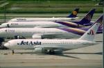 tasho0525さんが、スワンナプーム国際空港で撮影したジェット・アジア・エアウェイズ 767-2J6/ERの航空フォト(飛行機 写真・画像)
