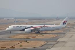 OS52さんが、関西国際空港で撮影したマレーシア航空 A350-941の航空フォト(飛行機 写真・画像)