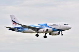 Hiro Satoさんが、スワンナプーム国際空港で撮影したバンコクエアウェイズ A319-131の航空フォト(飛行機 写真・画像)