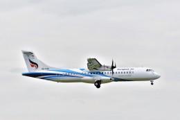 Hiro Satoさんが、スワンナプーム国際空港で撮影したバンコクエアウェイズ ATR-72-600の航空フォト(飛行機 写真・画像)