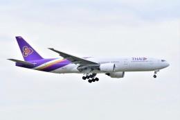 Hiro Satoさんが、スワンナプーム国際空港で撮影したタイ国際航空 777-2D7/ERの航空フォト(飛行機 写真・画像)