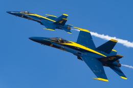 Flankerさんが、エルセントロ海軍航空基地で撮影したアメリカ海軍 F/A-18A Hornetの航空フォト(飛行機 写真・画像)