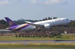 あおいそらさんが、成田国際空港で撮影したタイ国際航空 787-8 Dreamlinerの航空フォト(飛行機 写真・画像)