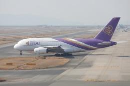 OS52さんが、関西国際空港で撮影したタイ国際航空 A380-841の航空フォト(飛行機 写真・画像)
