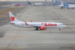 OS52さんが、関西国際空港で撮影したタイ・ライオン・エア 737-8GPの航空フォト(飛行機 写真・画像)