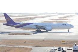 OS52さんが、関西国際空港で撮影したタイ国際航空 777-3D7/ERの航空フォト(飛行機 写真・画像)