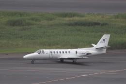 KAZFLYERさんが、羽田空港で撮影した中日本航空 560 Citation Vの航空フォト(飛行機 写真・画像)