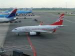twinengineさんが、アムステルダム・スキポール国際空港で撮影したグルジアン・エアウェイズ 737-76Nの航空フォト(飛行機 写真・画像)