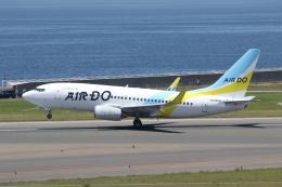 ANA744Foreverさんが、中部国際空港で撮影したAIR DO 737-781の航空フォト(飛行機 写真・画像)