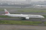 武田菱さんが、羽田空港で撮影した日本航空 777-346/ERの航空フォト(飛行機 写真・画像)