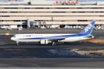 kuro2059さんが、羽田空港で撮影した全日空 767-381の航空フォト(飛行機 写真・画像)