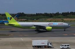 SIさんが、成田国際空港で撮影したジンエアー 777-2B5/ERの航空フォト(飛行機 写真・画像)