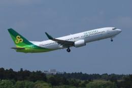 SIさんが、成田国際空港で撮影した春秋航空日本 737-8ALの航空フォト(飛行機 写真・画像)