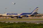 きんめいさんが、関西国際空港で撮影したナショナル・エアラインズ 747-428(BCF)の航空フォト(飛行機 写真・画像)