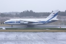 ふぉっくすさんが、成田国際空港で撮影したヴォルガ・ドニエプル航空 An-124-100 Ruslanの航空フォト(飛行機 写真・画像)
