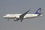 BTYUTAさんが、インディラ・ガンディー国際空港で撮影したエア・アスタナ A320-271Nの航空フォト(飛行機 写真・画像)
