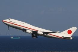 Hiro-hiroさんが、羽田空港で撮影した航空自衛隊 747-47Cの航空フォト(飛行機 写真・画像)