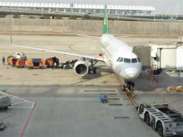 walker2000さんが、上海浦東国際空港で撮影した春秋航空 A320-214の航空フォト(飛行機 写真・画像)