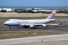 OMAさんが、台湾桃園国際空港で撮影したチャイナエアライン 747-409F/SCDの航空フォト(飛行機 写真・画像)
