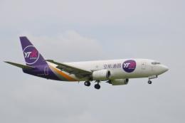 まーちらぴっどさんが、成田国際空港で撮影したYTOカーゴ・エアラインズ 737-37Kの航空フォト(飛行機 写真・画像)