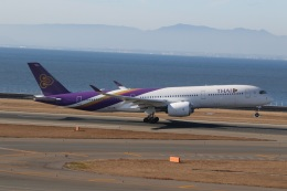 ショウさんが、中部国際空港で撮影したタイ国際航空 A350-941の航空フォト(飛行機 写真・画像)