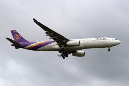 szkkjさんが、成田国際空港で撮影したタイ国際航空 A330-343Xの航空フォト(飛行機 写真・画像)