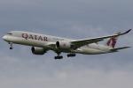 やまけんさんが、成田国際空港で撮影したカタール航空 A350-941の航空フォト(飛行機 写真・画像)