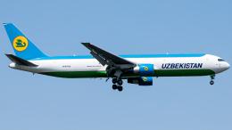 Shotaroさんが、上海浦東国際空港で撮影したウズベキスタン航空 767-33P/ER(BCF)の航空フォト(飛行機 写真・画像)