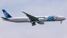 Shotaroさんが、上海浦東国際空港で撮影したエジプト航空 777-36N/ERの航空フォト(飛行機 写真・画像)