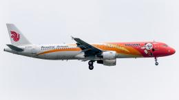 Shotaroさんが、上海浦東国際空港で撮影した中国国際航空 A321-213の航空フォト(飛行機 写真・画像)